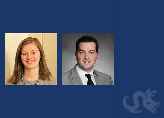 Nicole Crossey and John Lang, '19, Awarded Second Best Brief at John Gibbons Moot Court Competition