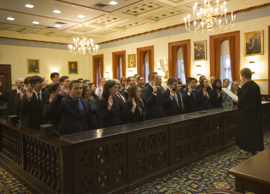 Class of 2013 Swearing In Ceremony