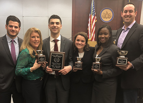 Texas Young Lawyers Association National Trial Competition - Regional Champions 2018