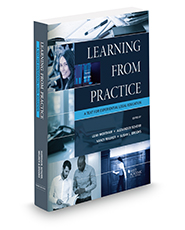 Cover of 'Learning from Practice,' co-written by Associate Dean Susan L. Brooks