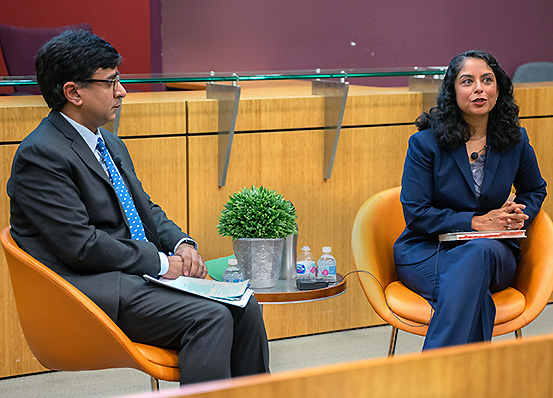 Professor Anil Kalhan interviews Professor Meera Deo of Thomas Jefferson School of Law