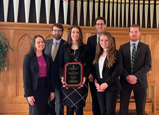 Two teams that entered 8th Annual Health Law Regulatory & Compliance Competition - 2019