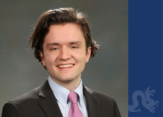 Justin Hollinger, '19, awarded an Independence Foundation Fellowship