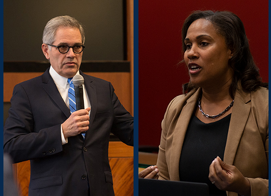 Philadelphia DA Larry Krasner and Chief Defender Keir Bradford-Grey