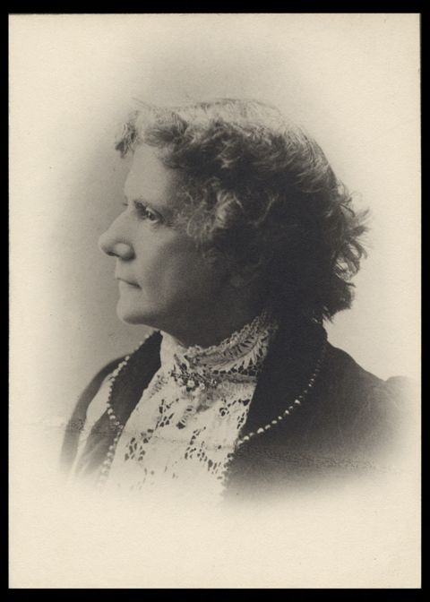 Portrait of Anna M. Longshore Potts, MD. (The Legacy Center Archives and Special Collections)