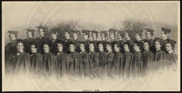 Class of 1898, Woman's Medical College of Pennsylvania.(The Legacy Center Archives and Special Collections)