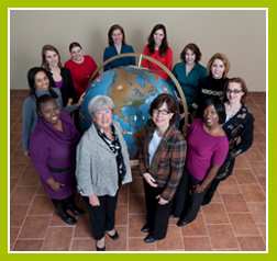 Staff of the Institute for Women's Health and Leadership (The Legacy Center Archives and Special Collections)