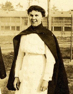 Nurse Diana Lewis, circa 1917 (The Legacy Center Archives and Special Collections)