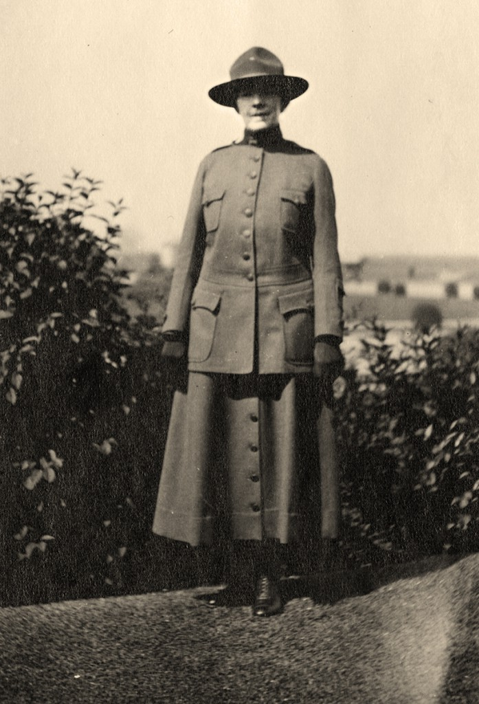 Elizabeth Hocker, MD circa 1917 (The Legacy Center Archives and Special Collections)