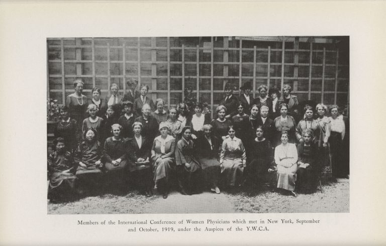 International Conference of Women Physicians, 1919 (The Legacy Center Archives and Special Collections)
