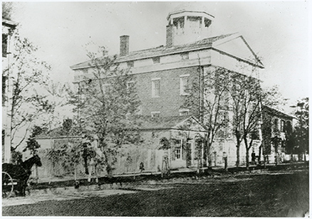 Geneva Medical College, circa 1848 (The Legacy Center Archives and Special Collections)