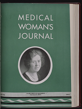 Woman's Medical Journal Cover June 1941 (The Legacy Center Archives and Special Collections)