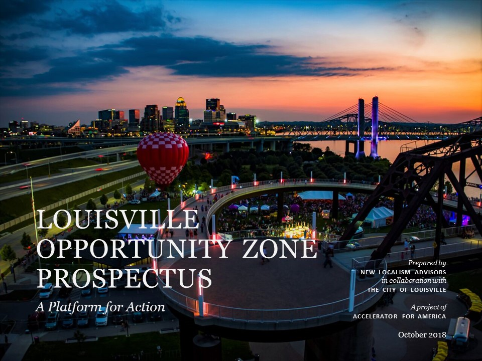 Investment Prospectus Guide - Lindy Institute for Urban Innovation