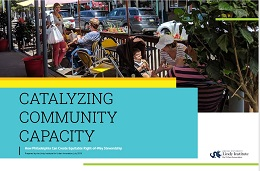 Cover of Catalyzing Community Capacity report