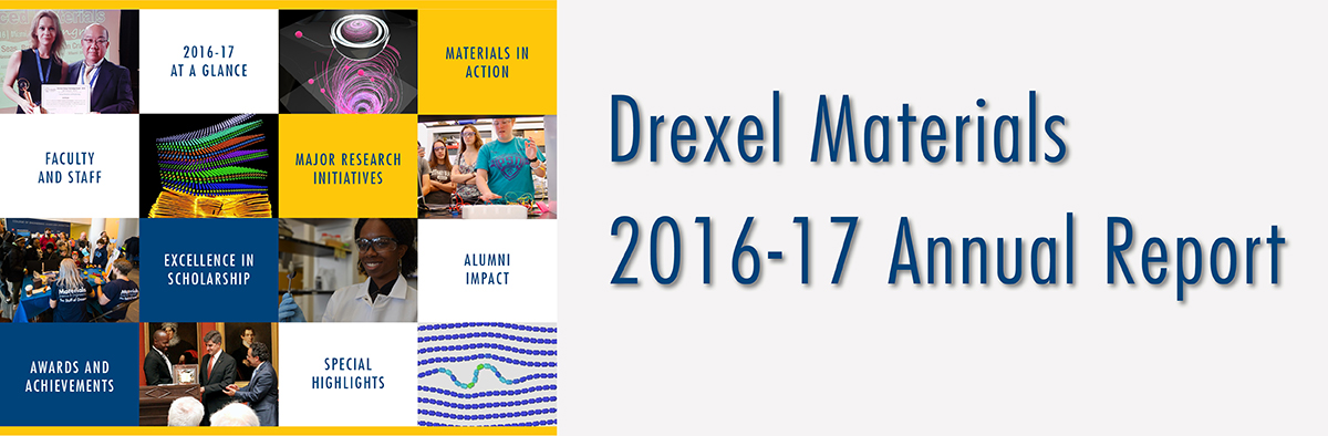 Drexel Materials 2015-16 Annual Report