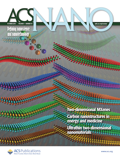 ACS Nano Oct 2015 Cover