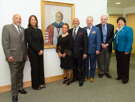 Dr. Maurice Clifford Portrait Dedication Ceremony - March 2017