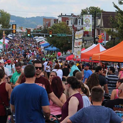 Street Fair in West Reading, PA