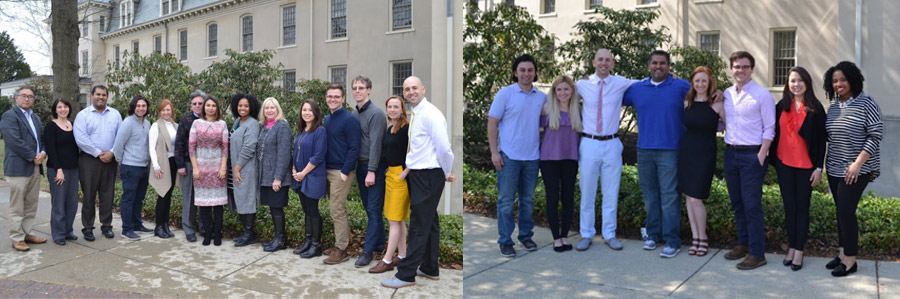 Fellows and faculty members of the Child & Adolescent Psychiatry Fellowship program