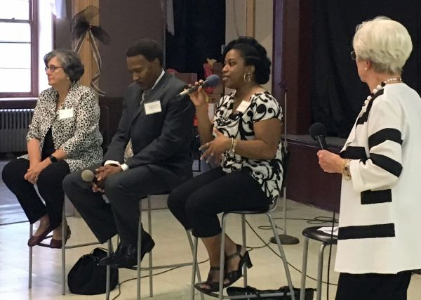 Panelists and moderator from the 2018 Conversation About Heart Health