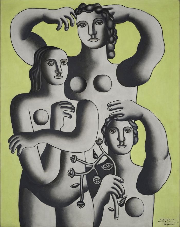 Fernand Léger: Composition with Three Figures—Fragment, 1932
