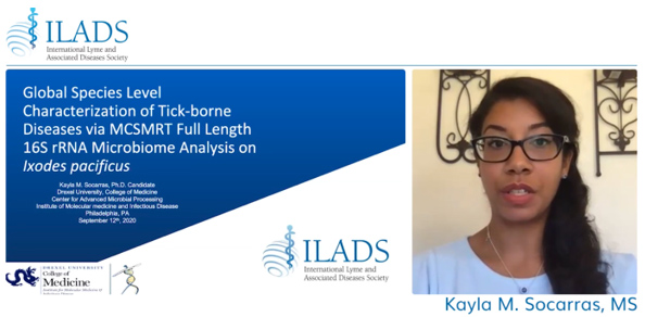 September 2020 International Lyme and Associated Diseases Society (ILADS) - Kayla M. Socarras