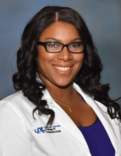 Dominique Jones, Drexel Med Student