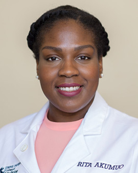 Drexel Medical Sciences program alumna Rita Akumuo