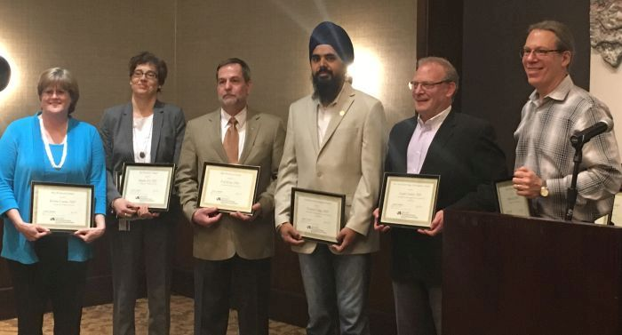 Graduate School Faculty Award winners including Garth Ehrlich, PhD