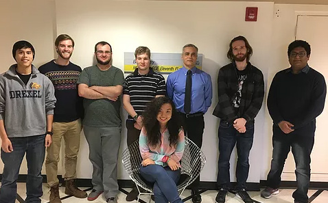 The members of the Michael Bouchard Laboratory at Drexel University College of Medicine.