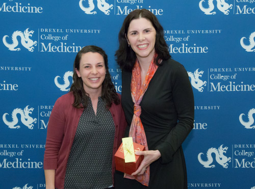 Amy Baranoski, MD, Golden Apple Award Recipient