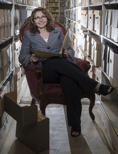 Joanne Murray, historian and director of Drexel's Legacy Center