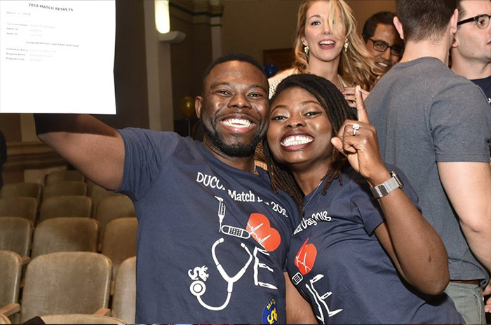 Fourth-Year Med Students Meet Their Match - Drexel