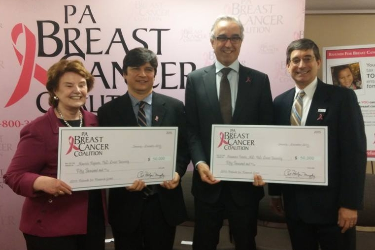 Professors Awarded Refunds for Breast Cancer Research Grants