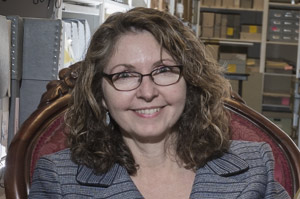 Joanne Murray, Archivist, Legacy Center
