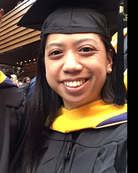 Drexel Cancer Biology program graduate Carlie Mendoza