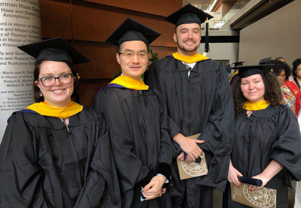 Congratulations to the 2019 graduates of Cancer Biology program!