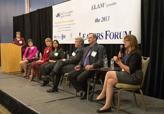 The panelists at the 2013 ELAM Leaders Forum.