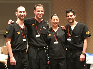 Picture left to right Alex Vazzano, PGY2 year; Ben Liss, PGY3; Sara Mistal PGY2; Russell Goldstein PGY3.