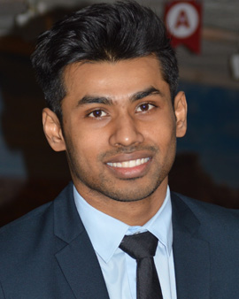 Drexel Master's in Medical Science student Mohibur Rahman