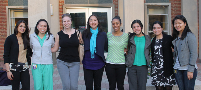 Students in the Women's Health Education program at Drexel University College of Medicine.