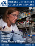 Drexel University College of Medicine Alumni Alumni Magazine Summer 2010