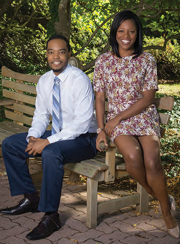 Dexter Graves and Bisola Egbe founded the Drexel Black Doctors Network program.