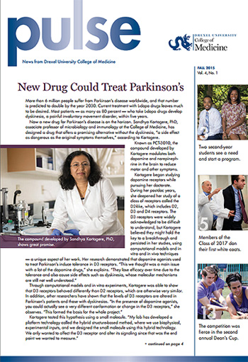 Drexel Pulse Magazine Fall 2015
