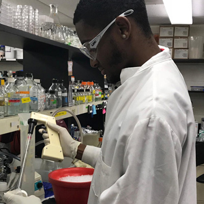 Justus Martin - 2018 Summer Undergraduate Research Fellow