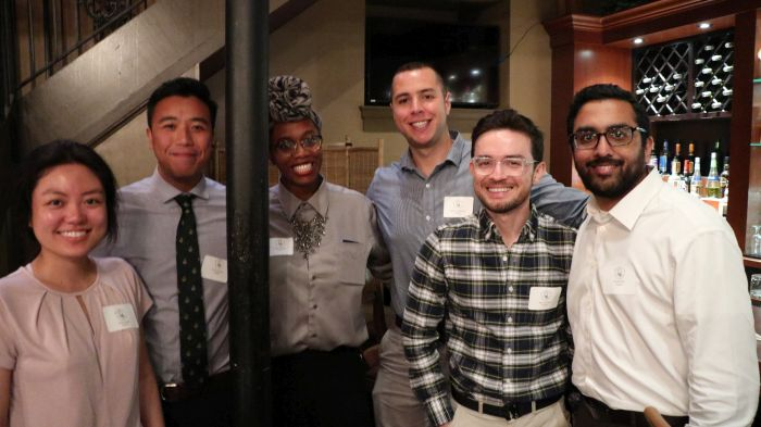 Attendees from the Pennsylvania Psychiatric Society Resident's Night