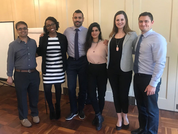 Adult psychiatry residents who presented at the program's annual Research Day