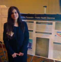 Shahana Ayub, MD at the Institute on Psychiatric Services in 2014.