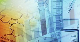 Abstract biochemistry and molecular biology research graphic.
