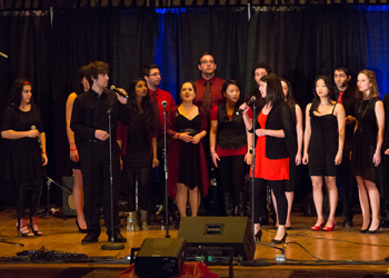 Drexel University College of Medicine students performing at the annual Pediatric AIDS Benefit Concert.